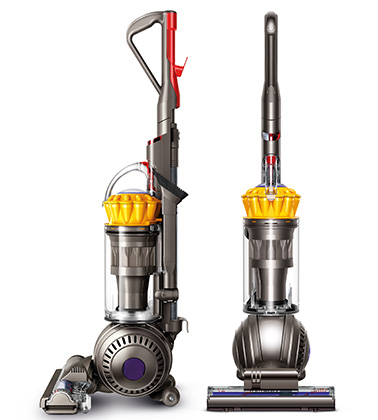 Dyson DC65 Ball Multi Floor Bagless Upright Vacuum Cleaner (Iron / Yellow)