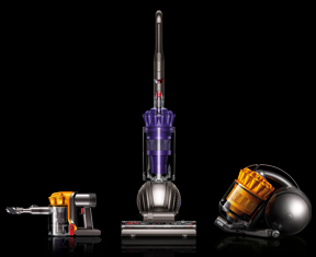 Image containing US specific Dyson vacuum cleaners