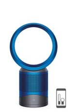 Dyson purifier fan in iron and blue  colourway